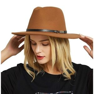 Accessories - Felt Fedora Hat